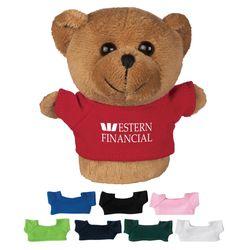 "4"" Mini Desk Beanie - Bear"
