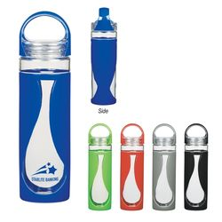 17 oz Glass Teardrop Bottle