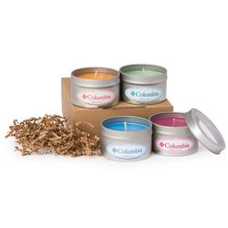 4 Piece Aromatherapy Candle Collection Gift Set
