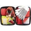 Highway Roadside Emergency Kit in Zipper Case Contains 24 Safety Essentials