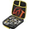 Highway Roadside Emergency Kit in Zipper Case Contains 44 Safety Essentials