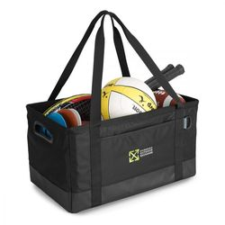 Deluxe Utility Tote Doubles as a Trunk Organizer