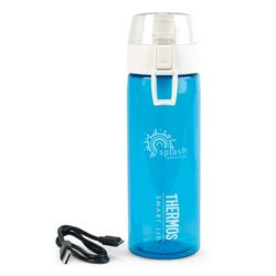 Thermos® 24 oz WiFi Hydration Bottle with Smart Lid Syncs with FitBit, Phones and More!