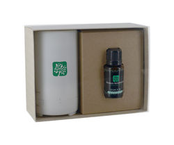 Gift Set Includes Your Choice of Essential Oil and Electronic Aromatherapy Diffuser
