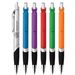 Bright Push-Action Ballpoint Pen with Large Imprint Area