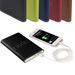 UL Listed Universal Power Bank - 4000 mAh - EXECUTIVE Leatherette Sleeve, Charges Tablets and Phones