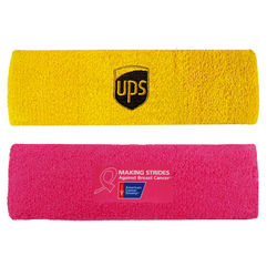 Sports Headband with Full Color Printed Applique (Fastest Ship)