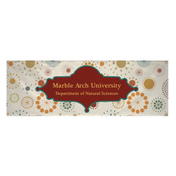 2' x 6' Single-Sided VINYL Banner with Full Color Printing