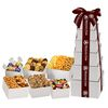 6-Tier Ultimate Sharing Gift Tower with 12 Different Sweet and Savory Treats