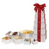 6-Tier Ultimate Sharing Gift Tower with 9 Different Sweet and Savory Treats