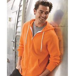 Unisex Super Soft Full-Zip Hooded Sweatshirt