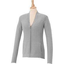 Quick Ship Ladies' Full-Zip Sweater