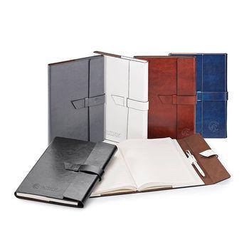 "6.75"" x 9.5"" Executive Refillable Hard Cover Journal"