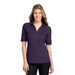 Ladies' Oxford Pique Double Pocket Polo