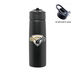24 oz. Stainless Steel Single Wall Water Bottle with Flip-Up Straw