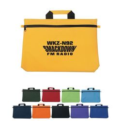 "11"" x 16"" Polyester Document Bag"