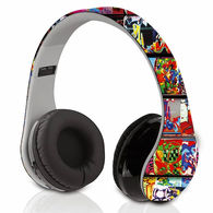 DesignEars-BT® Bluetooth Headphones with Built-In Microphone - Full Color Imprinting