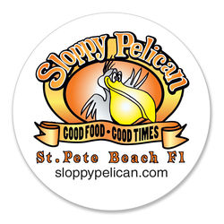 """4"""" Round Heavyweight Paperboard Coasters with Full-Color Printing (80 pt)"""