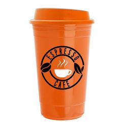 15 oz Economy Mix & Match Dishwasher-Safe Insulated Travel Mug