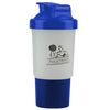 16 oz Dishwasher-Safe Shaker Cup for Blending Protein Powders and Drink Mixes