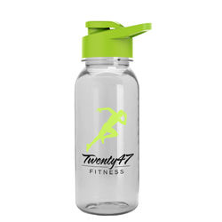 18 oz. Dishwasher-Safe Sports Bottle with Drink-Thru