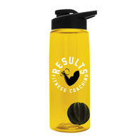 26 oz Dishwasher-Safe Shaker Bottle With Drink-Through Lid for Blending Protein Powders and Drink Mixes
