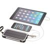 High Sierra® Solar Powered Universal Power Bank -10,000 mAh, Charges Tablets and Phones
