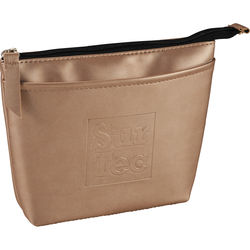 Metallic Organizer Pouch with Secret Hidden Pockets