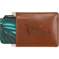 Wallet with RFID Protection and Secret Hidden Cash Pocket