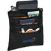 Travel Organizer Hangs on Seat Back of Cars or Airplane Trays