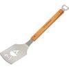 BBQ Spatula with Laser-Cut Fire Grill Design