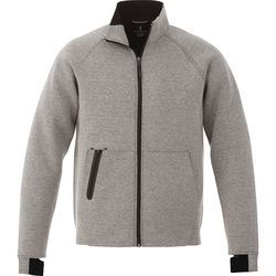 Quick Ship MEN'S Sporty Full-Zip Knit Jacket