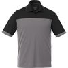 Quick Ship MEN'S Bold Color Blocked Technical Wicking Polo (Good)
