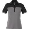 Quick Ship LADIES' Bold Color Blocked Technical Wicking Polo - GOOD