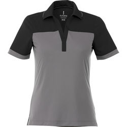 Quick Ship LADIES' Bold Color Blocked Technical Wicking Polo
