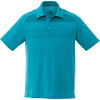 Quick Ship MEN'S Tone-on-Tone Striped Technical Wicking Polo - BEST