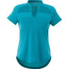 Quick Ship LADIES' Tone-on-Tone Striped Technical Wicking Polo