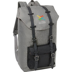 "Trendy ""Snow Canvas"" Rucksack Holds up to 17"" Laptops"