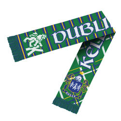 "52"" Scarf with Knit-In Custom Logo (for Detailed Designs) - USA Made"