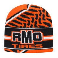 Beanie with Knit-In Custom Logo (for Detailed Designs) - USA Made