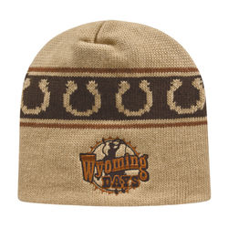 Beanie with Knit-In Custom Logo (for Simple Designs) - USA Made