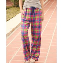 Ladies' Flannel Pants With Pockets