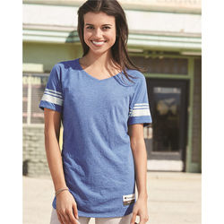 Champion® Ladies' Triblend Varsity T-Shirt