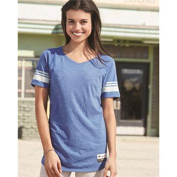 Champion® Ladies' Triblend Varsity T-Shirt