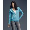 Anvil® Ladies' Triblend Hooded Full-Zip T-SHIRT