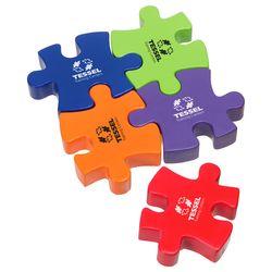 Single Puzzle Piece Stress Reliever