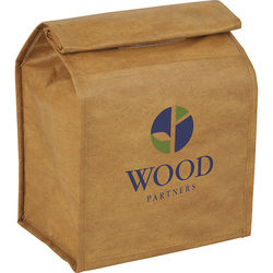 Cooler Made to Look Like a Brown Paper Bag