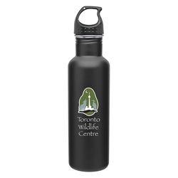 24 oz. Stainless Steel Single Wall Water Bottle - h2go&reg Bolt