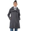 Quick Ship LADIES' Softshell Hooded Rain Coat (50°F to 23°F)
