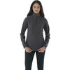Quick Ship LADIES' Pullover Microfleece with Retail Inspired Contrast Stitching and Thumb Holes